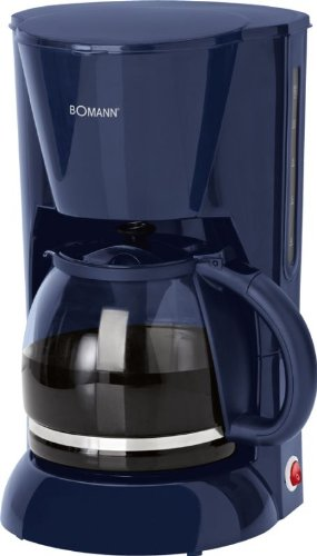 Cafetera de cristal de 1,5 litros, con indicador de nivel de agua, para 12 tazas (filtro extraíble, placa calentadora…