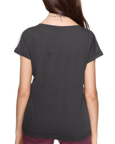 s.Oliver - Camiseta con cuello redondo de manga corta para mujer Varios colores (98D1)