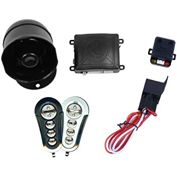 Amazon.com: K9 Keyless Entry y alarma sistema de seguridad ...