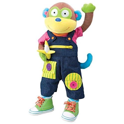 Alex - Petites Mains - à apprendre à s'habiller Singe