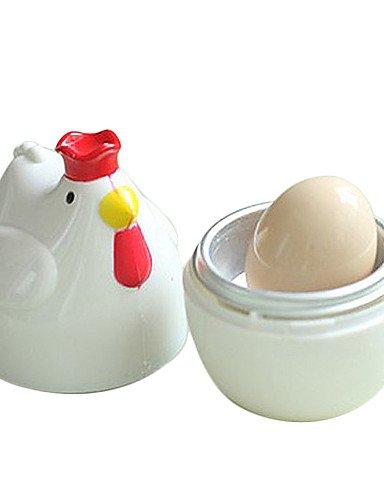 jiao- con forma de pollo microondas un calentador de huevos ...