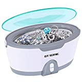 GTSONIC Ultrasonic Jewelry Cleaner-Detachable Home Professional Auto Cleaning Machine for Rings Glasses Dentures Coins
