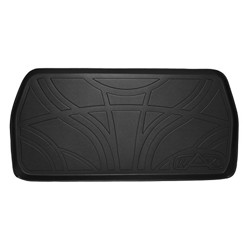 SMARTLINER All Weather Cargo Liner Floor Mat Behind 3rd Row Seat Black for 2011-2017 Honda Odyssey