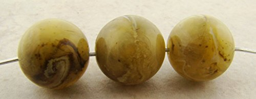 RBLE 14MM SMOOTH ROUND BEADS - Lot of 12 ()