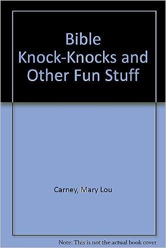 Book Bible Knock Knocks And Other Fun Stuff