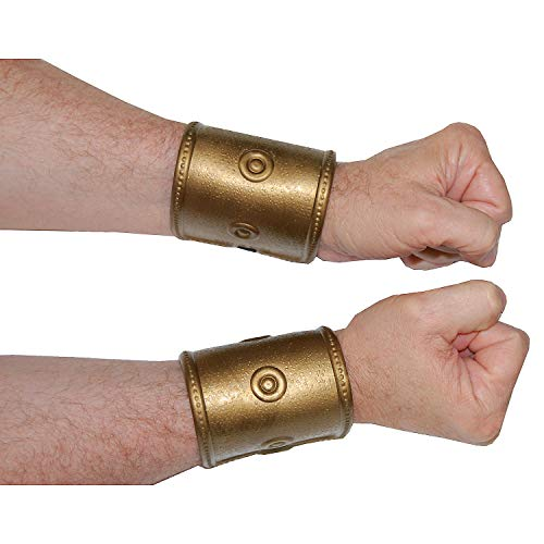 Roman Soldier Wrist Band - Halloween and Costume Accessories -