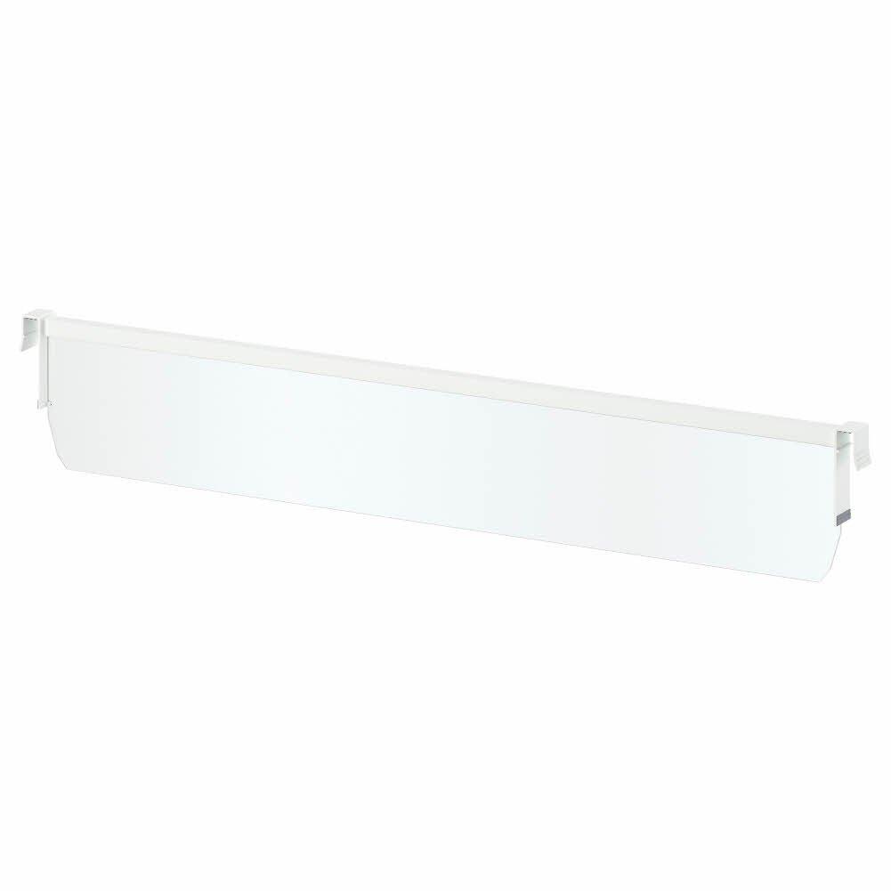 IKEA ASIA MAXIMERA Divider for medium drawer, white, transparent