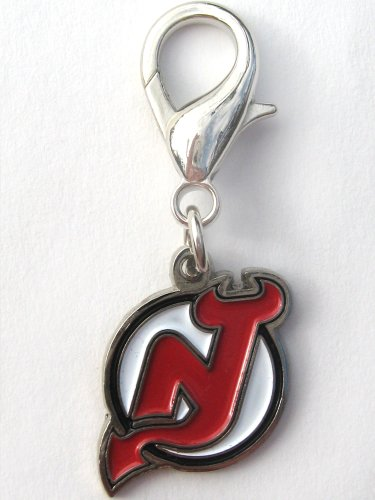 NHL Licensed New Jersey Devils Collar Charm