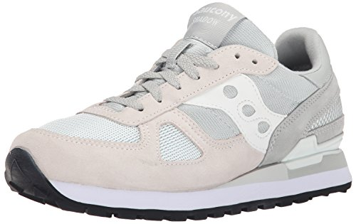 Saucony Shadow Original wildleder, sneaker - Grey/White Multicolore (Grey/White 596)