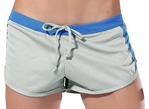 Drawstring Running Shorts (Mens Sports Soft Running Training Short)