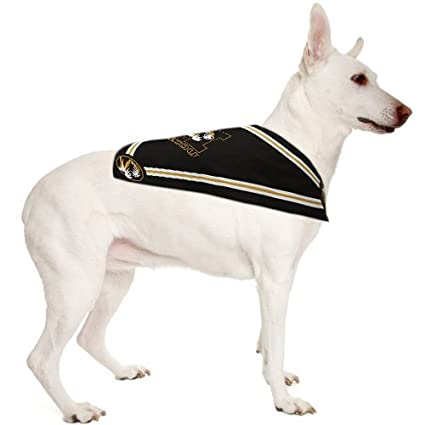 Sporty K9 Dog Bandana  - NCAA Licensed Bandana  - Football/Basketball Dog &  Cats Bandana  - Durable Sports PET Bandanas for Dogs & Cats  2 in 24