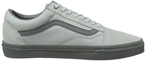 Skate Classic rise Old Vans Shoes Pewter Skool High Unisex Iawqp
