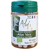 Pur'Aloe Complément Alimentaire Aloe Vera Bio 45 Gélules