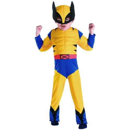 Wolverine Muscle Costume - Toddler Large (Wolverine Muscle Costume)