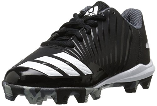 new arrival 6224f a9e96 adidas Unisex-Kids Icon MD K Baseball Shoe, Core Black, Ftwr White,