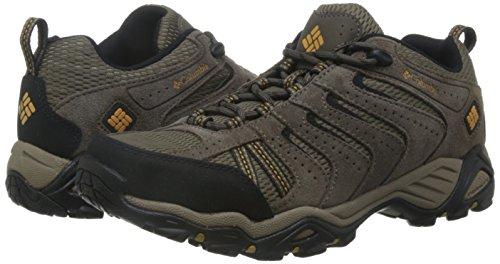 Columbia Men's North II Hiking Shoe, Wet Sand, Squash, US