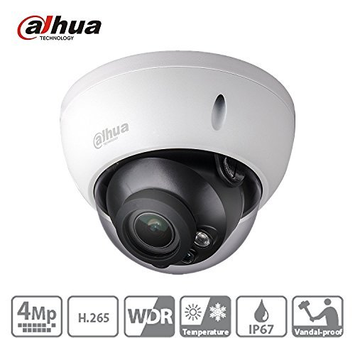 For Dahua IPC-HDBW4431R-AS 4MP Dome Network IP Camera H.265 PoE IP67 ONVIF Night Vision Support Audio & Alarm 2.8mm Lens International Version