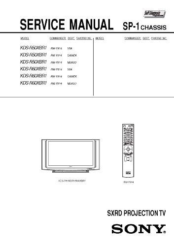 SONY KDSR50XBR1, KDSR60XBR1 Service Manual - Kdsr60xbr1 Sony