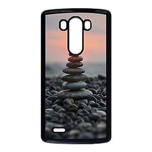 Beautifui sunset CHA2084509 Phone Back Case Customized Art Print Design Hard Shell Protection LG G3