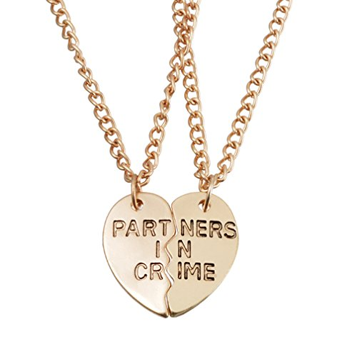 MJARTORIA Valentine Partners Friendship Necklaces