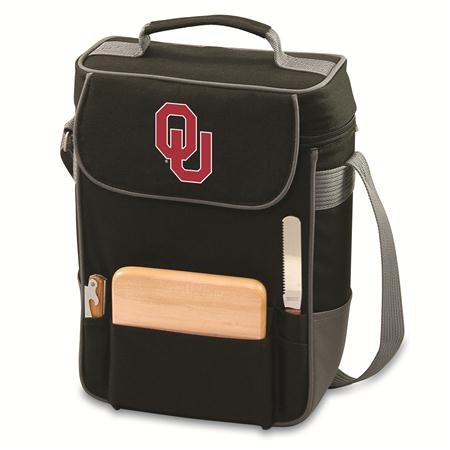 - NCAA Oklahoma Sooners Duet Insulated Wine and Cheese Tote with Team Logo