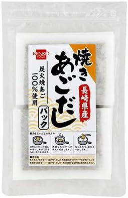 健康フーズの焼あごだしパック(飛魚)70g×6個          JAN: 4973044031124