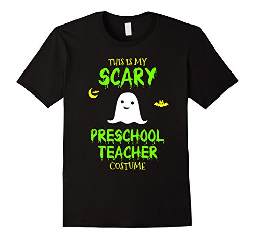 Mens Scary Preschool Teacher Costume Halloween T-Shirt Medium Black - Preschool Halloween Costume Ideas