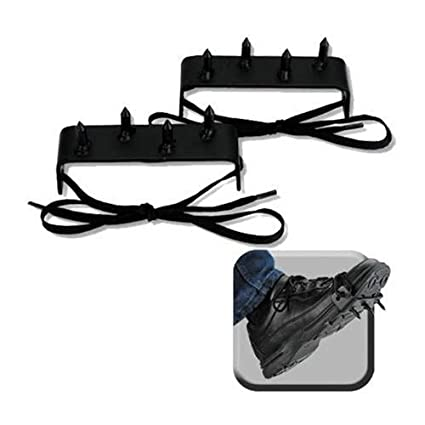 2 Pc. Ninja Gear Black Steel Foot Spikes Claw