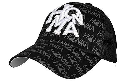 Honma 731-419603 Golf Cap Black One Size Fits All from Honma Golf