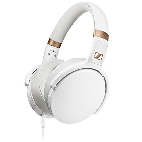 White Around Ear Headphones (Sennheiser Stereo Mic)