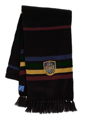 Hogwart's Scarf Black (Hogwarts Costumes For Women)