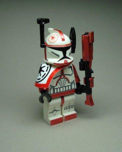 Commander Arc Red Fox (Clone Wars Commander Fox Costume)