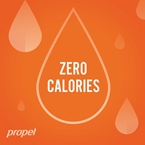 Propel Water Mandarin Orange Flavored Water With Electrolytes, Vitamins and No Sugar 16.9 Ounces (Pack of 6) by Propel (Image #5)