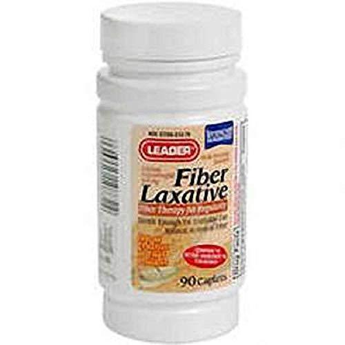 PH2545440EA - Leader Fiber Laxative Caplets 625 mg (90 Count)