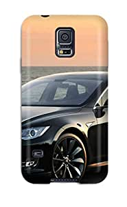 For ZippyDoritEduard Galaxy Protective Case, High Quality For Galaxy S5 Tesla Model S 11 Skin Case Cover