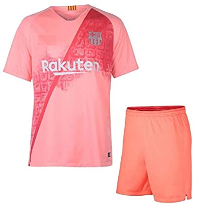 super popular 46e44 d4791 Buy Barcelona Third Kit Jersey with Shorts 2018-2019 (Large ...
