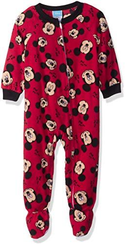Disney Baby Boys Mickey Mouse Fleece Footed Blanket Sleeper