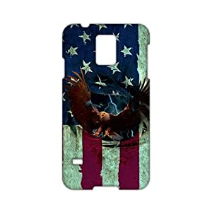 Angl 3D Case Cover America Flag Eagle Phone Case for Samsung Galaxy s 5