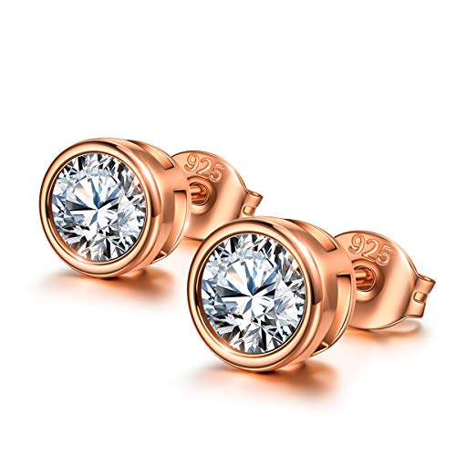 The Gilded Age Gold Earrings for Women 925 Sterling Silver Stud Earrings Hypoallergenic Earrings for Women