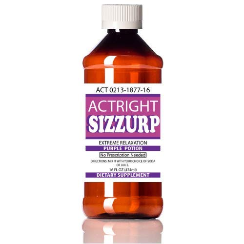 Actright (16oz) Purple Relaxation Syrup