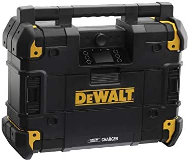 Dewalt DWST1-81078-QW TSTAK - Radio de Red con batería (18 V), Color Negro: Amazon.es: Electrónica
