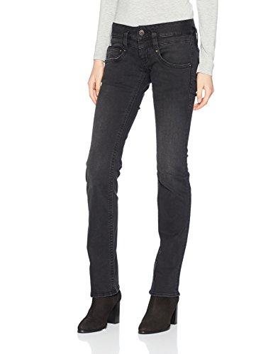 Schwarz Jeans Donna 726 Herrlicher vampire Pitch Denim wIqxIEfZ