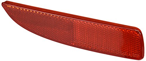 Depo 216-1407R-US-R Reflector (MAZDA 3 SEDAN RH-SIDE/HATCH BACK LH-SIDE 04-09/5 06-10/5 12 REAR SIDE LAMP UNIT PASSENGER SIDE)
