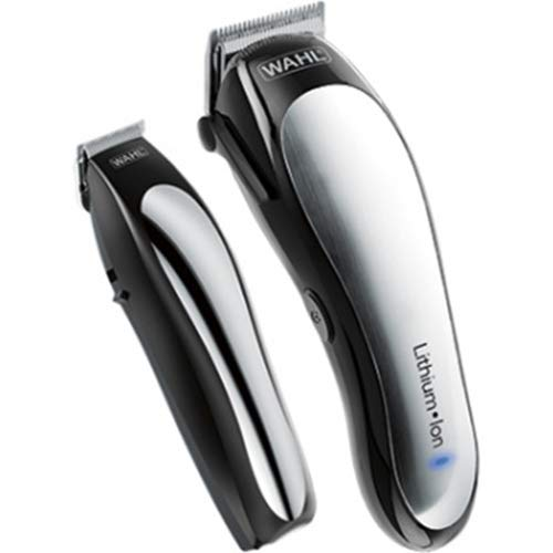 Wahl - Lithium Pro Complete Cordless Haircut Kit - Black/sil