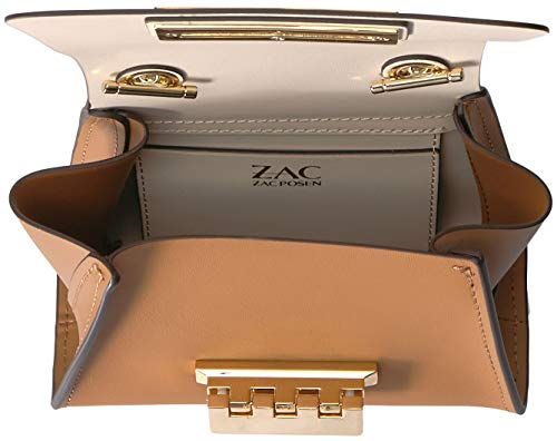 Womens Camel Mini Color ZAC Block Chain Crossbody Zac Posen Eartha HanPqxEwp