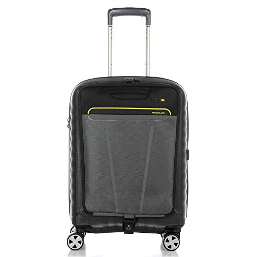 trolley-cabin-roncato-double-disk-black-business-trip-5145-black-lime-brings-tablet-pc-4-wheels-tsa