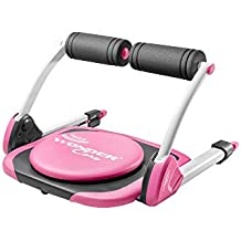 Wonder Core Twist for Core Strength Training and Weight Loss, Evolution Portable Abdominal Machine, Perfect for Oblique Exercises | Pink Version with Original Training App & Exercise Guide (Pink)