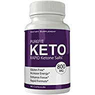 Purefit Keto Advanced Weight Loss Supplement - Purefit Keto Pills Weight Loss Capsules - Advanced Weight Loss 800 mg Formula Pills - BHB Salts Tablets Original by nutra4health