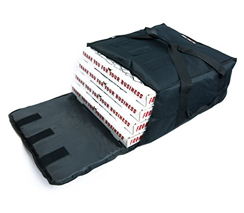 Black Polyester Insulated PizzaFood