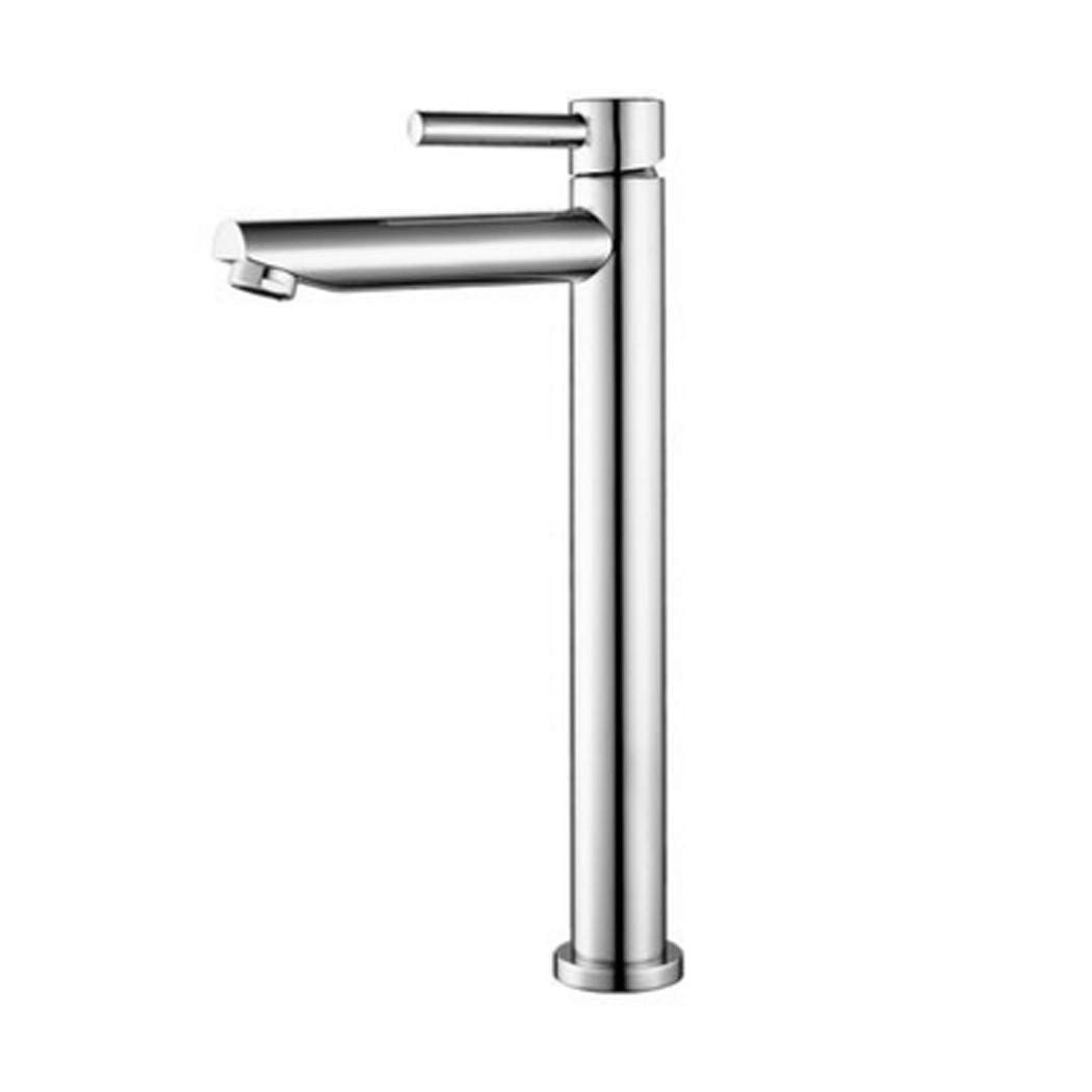 1 Fotorahmen TONGTONG SHOP Faucet, All Copper Hot And Cold Bathroom Single Hole Wash Basin Above Counter Basin Faucet (Edition    1)